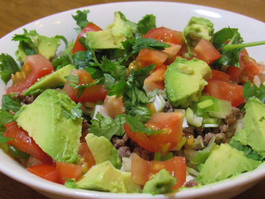Balance Bowl #1: Burrito Style